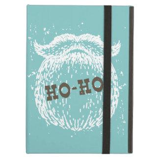Capa Para iPad Air Ho-Ho papai noel Noel do feriado do Natal