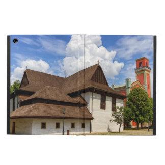 Capa Para iPad Air Igreja articulaa de madeira em Kezmarok, Slovakia