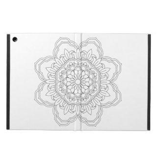 Capa Para iPad Air ilustração sagrado da geometria da mandala do