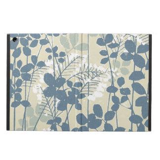 Capa Para iPad Air Impressão azul floral das flores da arte asiática