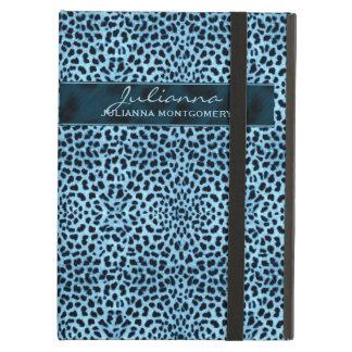 Capa Para iPad Air Impressão da chita em grandes matiz azuis