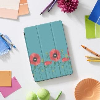 Capa Para iPad Air Impressão de florescência do campo da papoila