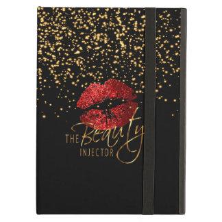 Capa Para iPad Air Injector da beleza com confetes do ouro & os