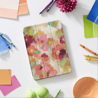 Capa Para iPad Air Jardim coral e esmeralda
