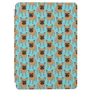 Capa Para iPad Air Jovem corça dourada Frenchie