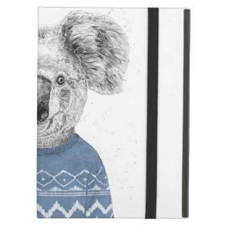 Capa Para iPad Air Koala do inverno
