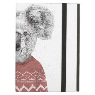 Capa Para iPad Air Koala do inverno (vermelho)