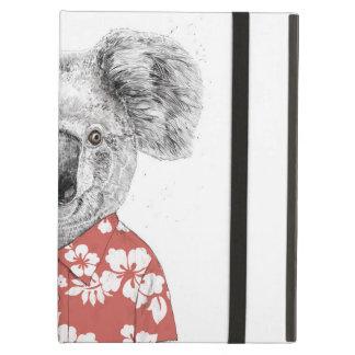 Capa Para iPad Air Koala do verão (vermelho)