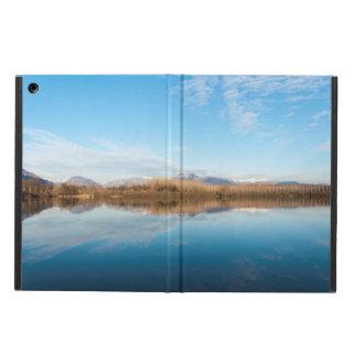 Capa Para iPad Air Lago do azul do inverno