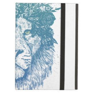 Capa Para iPad Air Leão floral