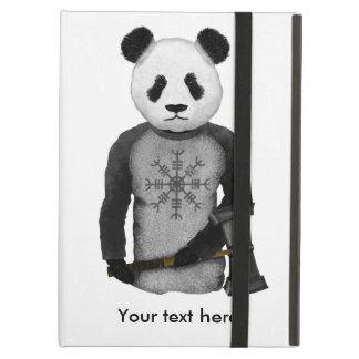 Capa Para iPad Air Leme de Viking da panda do incrédulo