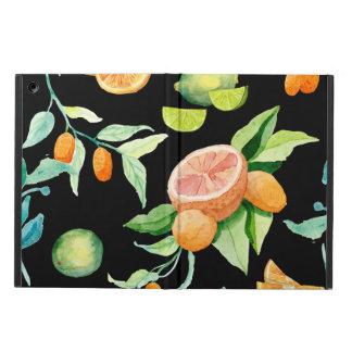 Capa Para iPad Air Limão moderno corajoso do Kumquat das laranjas da