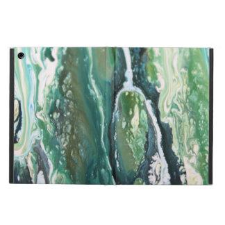 Capa Para iPad Air Linhas de pintura do abstrato do vertical de