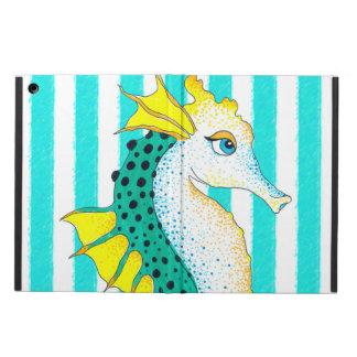 Capa Para iPad Air listras da cerceta do cavalo marinho