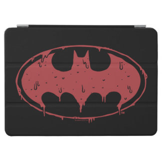 Capa Para iPad Air Logotipo Oozing do bastão vermelho de Batman |