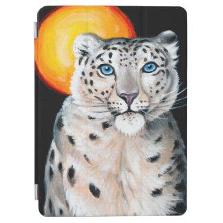 Capa Para iPad Air Lua do leopardo de neve