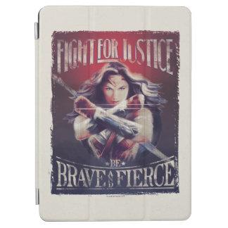 Capa Para iPad Air Luta da mulher maravilha para justiça