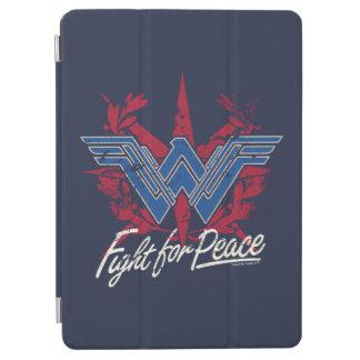Capa Para iPad Air Luta da mulher maravilha para o símbolo de paz
