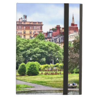Capa Para iPad Air MÃES de Boston - relaxando no jardim público de