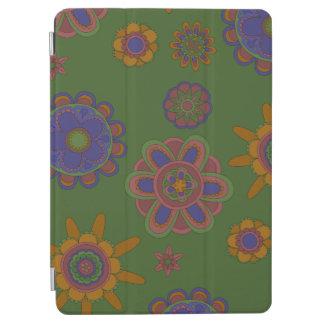 Capa Para iPad Air Malva & flores do ouro