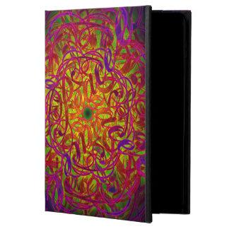 """Capa Para iPad Air Mandala da inspiração - """"paz """""""