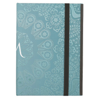 Capa Para iPad Air Mandala do laço do Aqua