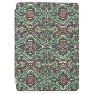 Capa Para iPad Air Mão colorida abstrata design encaracolado tirado