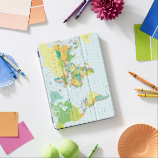 Capa Para iPad Air Mapa do mundo