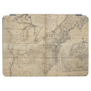 CAPA PARA iPad AIR MAPA: EUA, 1783