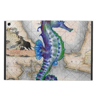 Capa Para iPad Air Mapa Gibraltar do cavalo marinho