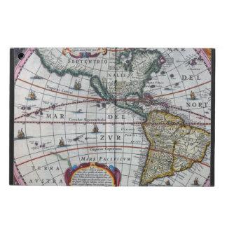 Capa Para iPad Air Mapas velhos de América
