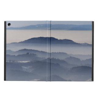 Capa Para iPad Air Mar de montanhas nevoentas