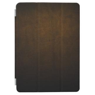 Capa Para iPad Air Matéria têxtil escura do Grunge