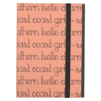 Capa Para iPad Air Menina da costa leste com encanto do sul do Belle