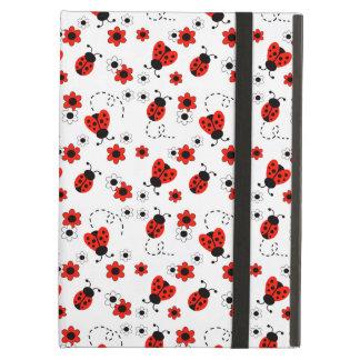 Capa Para iPad Air Menina vermelha da senhora Desinsetar Branco
