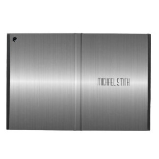 Capa Para iPad Air Metal de aço inoxidável de prata