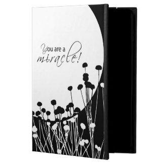 Capa Para iPad Air Milagre da recuperação, preto e branco