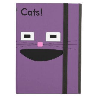 Capa Para iPad Air Monkeys a caixa do ar de Ipad dos gatos do n