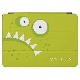 Capa Para iPad Air Monstro verde assustador engraçado irritado