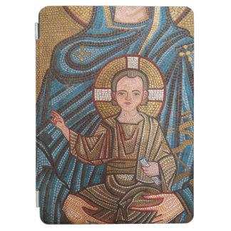 Capa Para iPad Air Mosaico do bebê Jesus