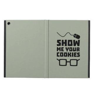 Capa Para iPad Air Mostre-me seu geek Zb975 dos biscoitos