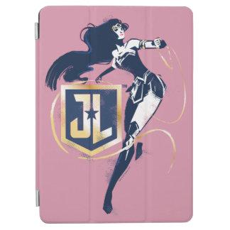 Capa Para iPad Air Mulher maravilha da liga de justiça | & de ícone
