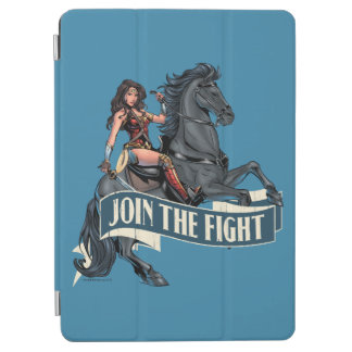 Capa Para iPad Air Mulher maravilha na arte cómica do cavalo