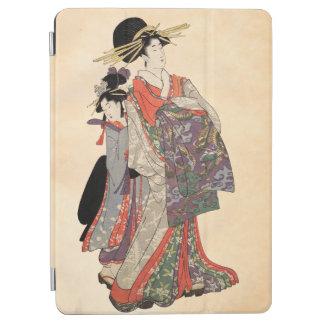 Capa Para iPad Air Mulher no quimono colorido (impressão do japonês
