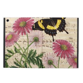 Capa Para iPad Air Música da borboleta da margarida
