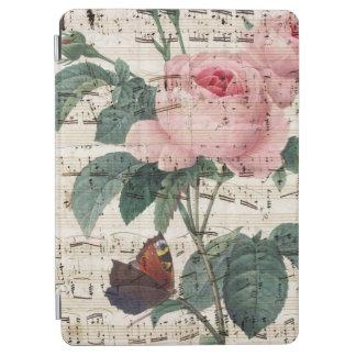 Capa Para iPad Air musicc dos rosas