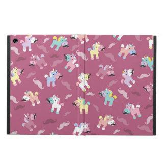 Capa Para iPad Air Mustachio Unicornio