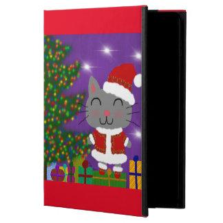 Capa Para iPad Air Natal de Meowy