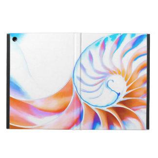 Capa Para iPad Air Nautilus colorido