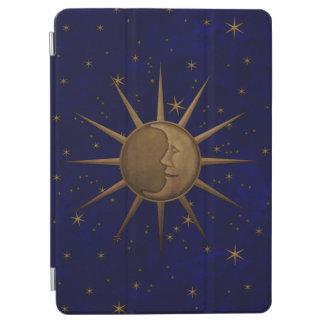Capa Para iPad Air Noite estrelado da lua celestial de Sun